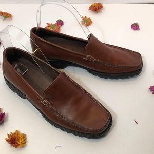 Come Haan country leather loafers